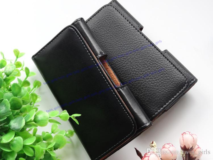 Universal Wallet PU Leather Horizontal Case Cover Pouch With Belt Clip For Apple Iphone 6/7/8 Plus iphone X Samsung S8 S7 Note 5