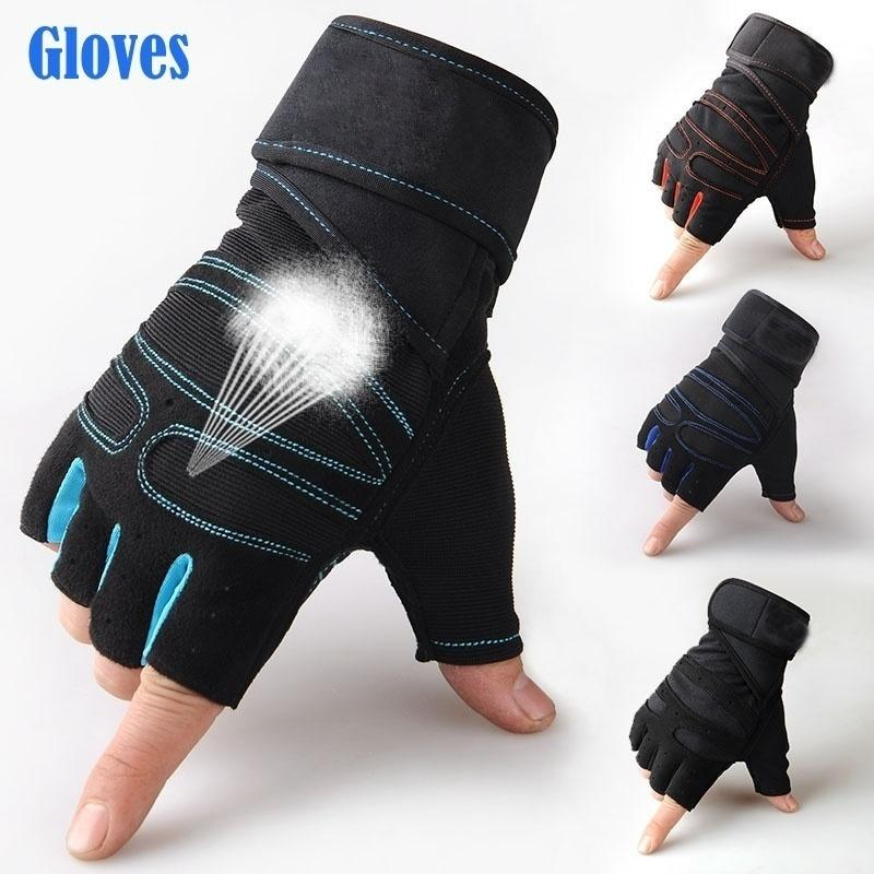 Man And Woman Sports Fitness WeightLifting Gloves For Men And Women Gym Body Building Training Glove