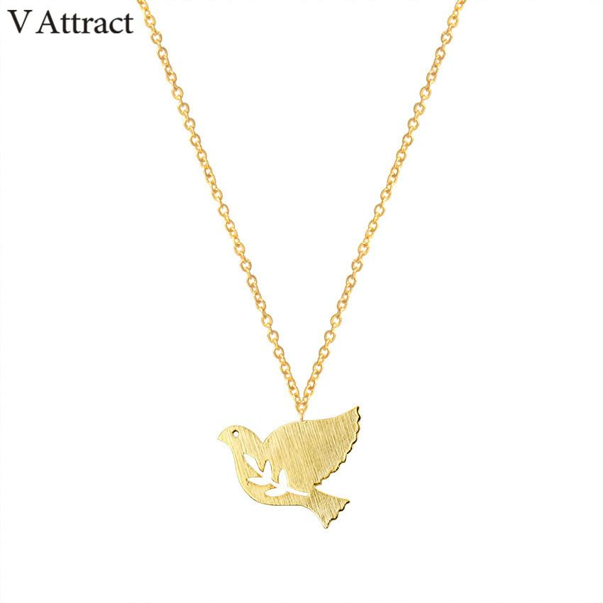 2018 v attract 2017 cute branch and bird pendants necklace women 2018 v attract 2017 cute branch and bird pendants necklace women jewelry silver chain peace dove choker couple charm from crazyxb 135 dhgate aloadofball Images