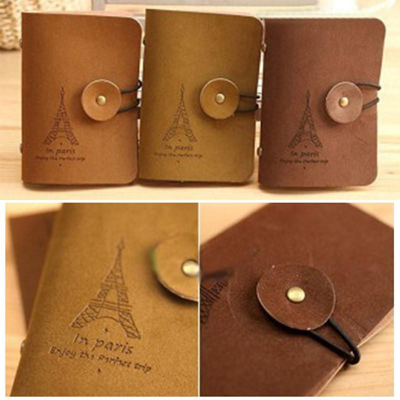Womens Men Eiffel Tower Id Credit Card Wallet Cash Holder Organizer ...