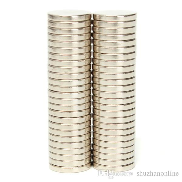 N52 Super Strong Disc Magnets 20mm x 3mm Rare-Earth Neodymium Magnets