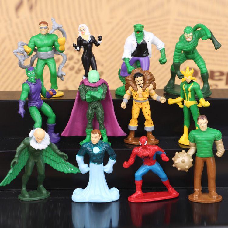 2019 marvel comics spiderman 3 green goblin pvc action figures
