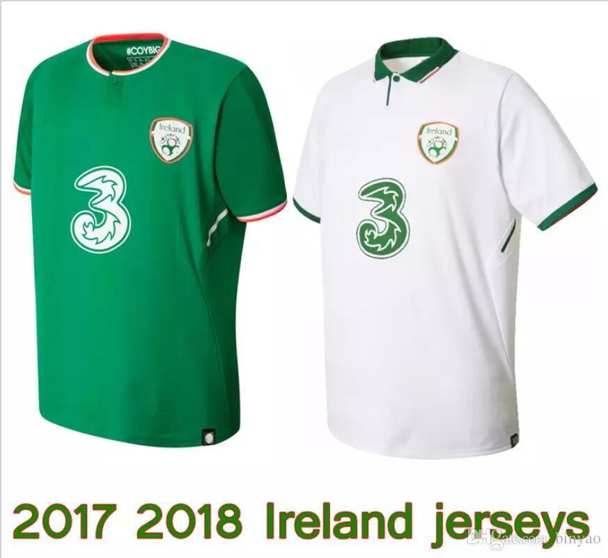 fa15dcf64 2019 2017 2018 Ireland Soccer Jerseys Republic Of Ireland National Team  Jerseys 2018 World Cup Ireland KEANE Daryl Home Away Football Shirts From  Binyao
