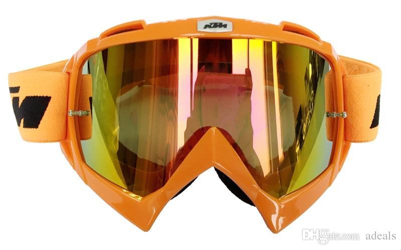 Heiße Verkäufe KTM Motorrad-Schutzbrille Motocross-Gläser MOTO ATV Gafas laufende schützende Zahnrad-Radschablone für Paintball-CS-Sport