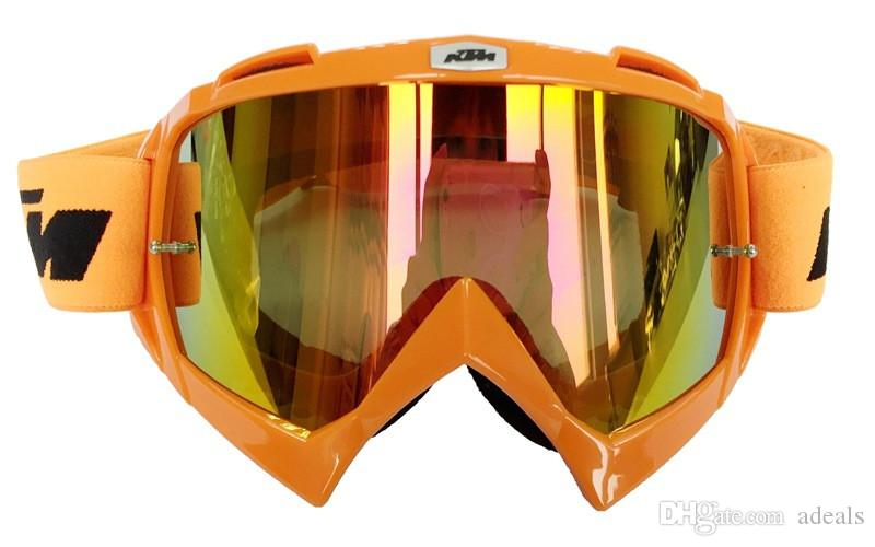 Hot Sales KTM Motorcycle Goggle Motocross Glasses MOTO ATV Gafas Racing Protective Gear Cycling Mask For Paintball& CS Sports