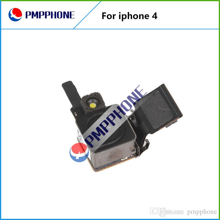 Parte Buen Qualtiy para Iphone 4 4G 500MP Volver sustitución cámara trasera con flash con