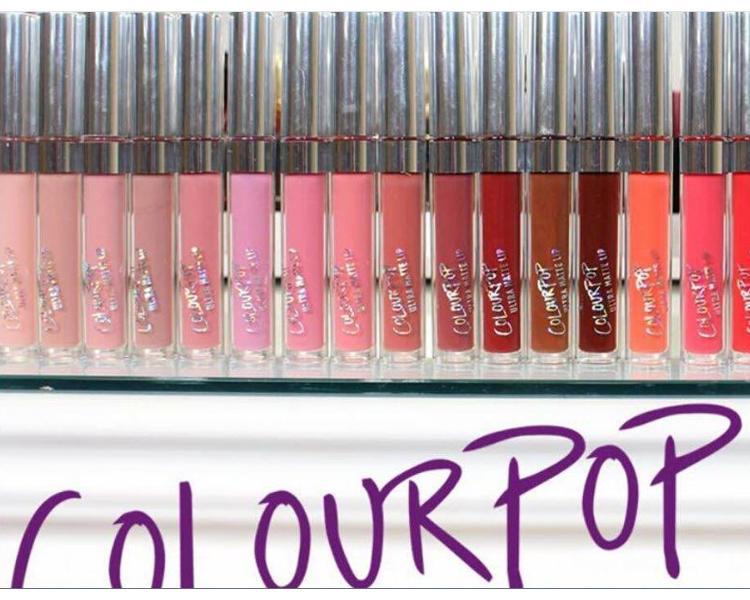 2016 Nueva llegada Colourpop Lip Gloss LABIOS LÁCTEOS ULTRA MATTE Varios colores Labios de larga duración Color pop es