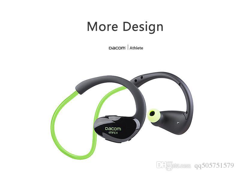 Precio al por mayor Dacom Cheetah 4.1 Auriculares Bluetooth Auriculares Auriculares Inalámbricos Micrófono AptX Sport Auriculares para iPhone Teléfono Android