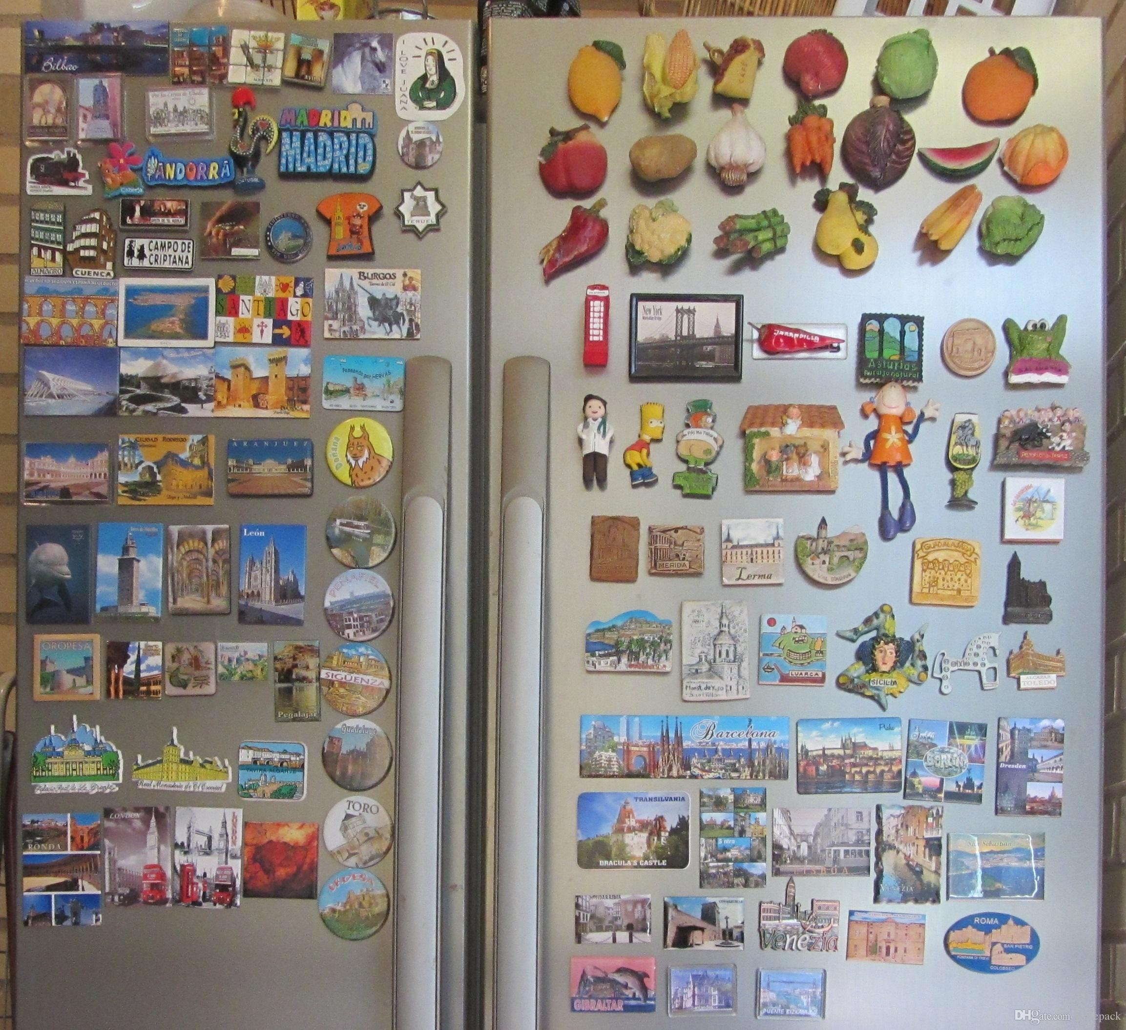 Refrigerator Stickers Cartoon Fridge Magnetrefrigerator Magnetic Sticker Paster Decal