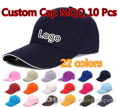 9b810d6a790 6 Panels Plain Cotton Baseball Caps With Sandwish Adjustable ...
