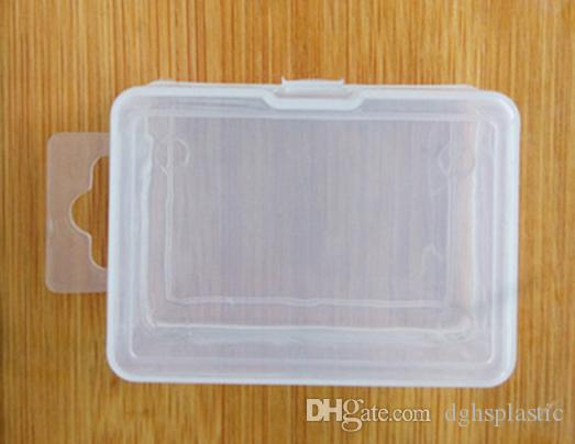2018 Fashion Hight Quality Plastic Rectangle Storage Box Small