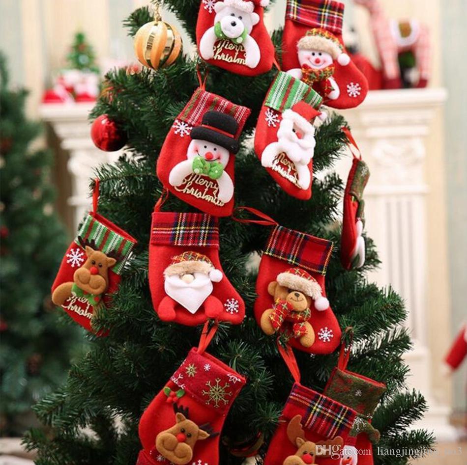 Großhandel Weihnachten Rentier Socken Santa Schneemann Elch ...