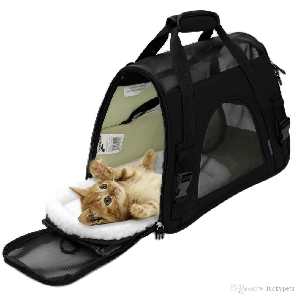 OxGord Pet Carrier Soft Sided Cat / Dog Comfort Travel Tote Bag Airline Approved With