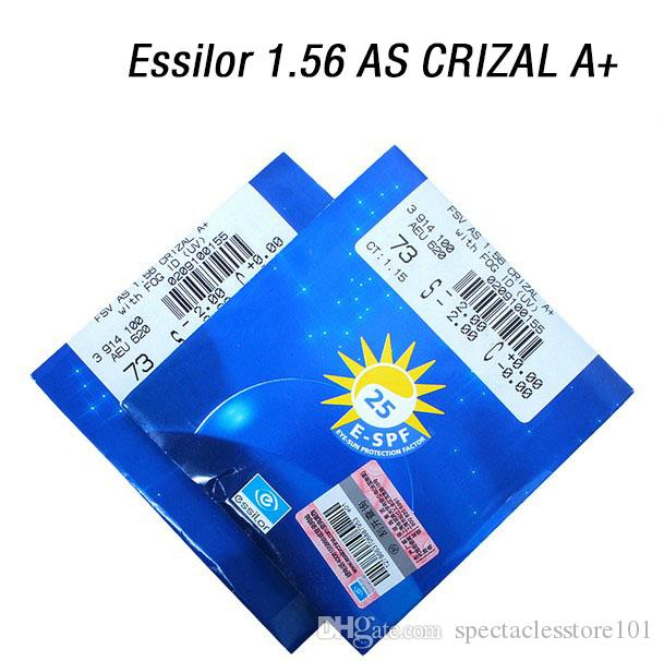 91cbfd31a7c2 2019 Essilor AS CRIZAL A+ Myopia Lenses And Reading Lens Anti Reflective  Lens Scratch Resistant Lens E SPF 25 Free Assembly From Spectaclesstore101