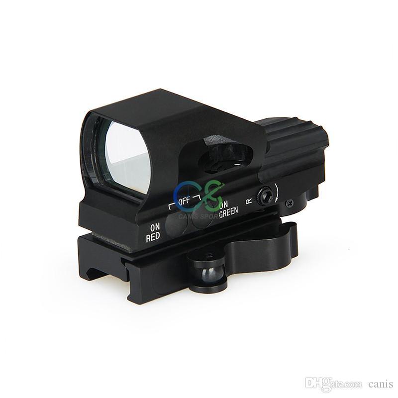 PPT New Arrival 4 Reticle Red Dot Scope Reticle Style Red /Green Dot for Hunting CL2-0093