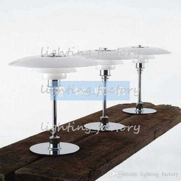 새로운 도착 루이스 폴센의 폴 헤 닝센 유리 산도 테이블 램프 직경 28.5cm