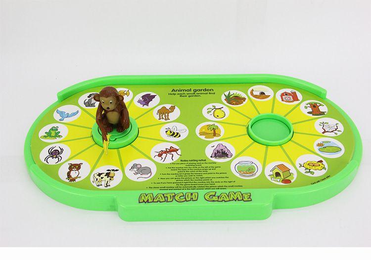 Compre Diversión De Plástico Mono De Dibujos Animados Partido Juego De Juguete  Para Los Niños Aprender Juguete De Simple Coincidencia Juegos Para Niños ...