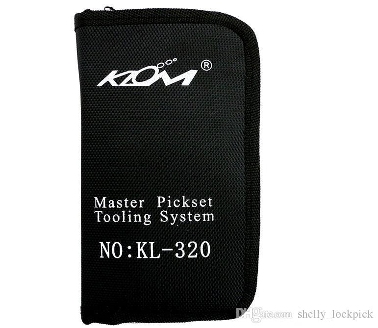 Prezzo all'ingrosso Materiale in acciaio inossidabile KLOM Lock Pick Tool Lock Key Extractor Set attrezzi del fabbro