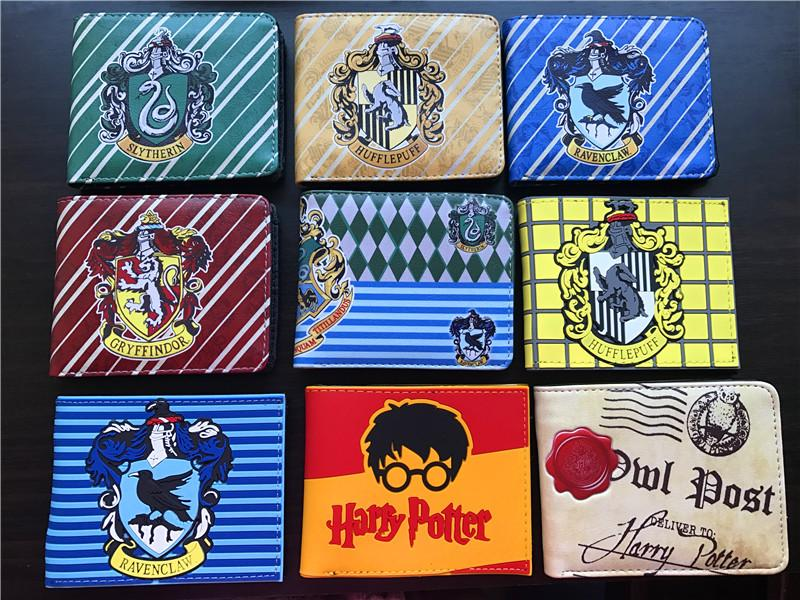 NEW Anime Harry Potter Boy/Girl Colorful Cartoon Card Wallet/Money Bag/Coin Purse Student/Kids Gifts High Quality Zipper Purse