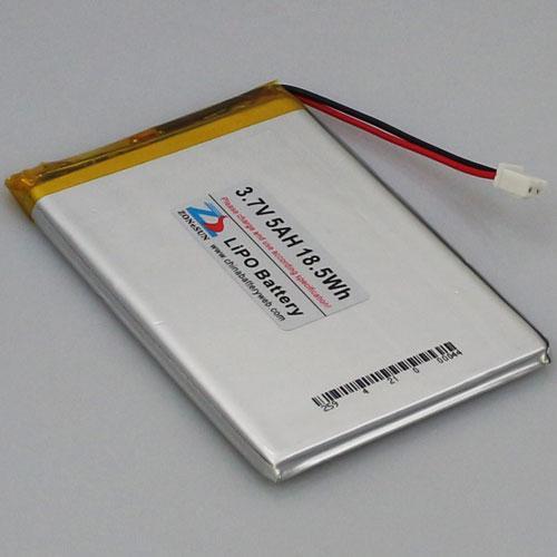 [ex] 5000mAh 556592 3.7V Polymerbatterie 556590 mobile Notstrom-LED-Lampe