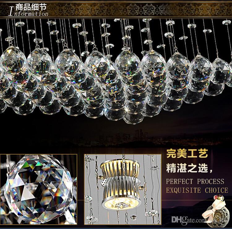NEUE Entwurfskristallpendelleuchte Befestigung, die große moderne Kristallleuchterhotellobby beleuchtet, führte Leuchterbeleuchtung L150 * W150CM