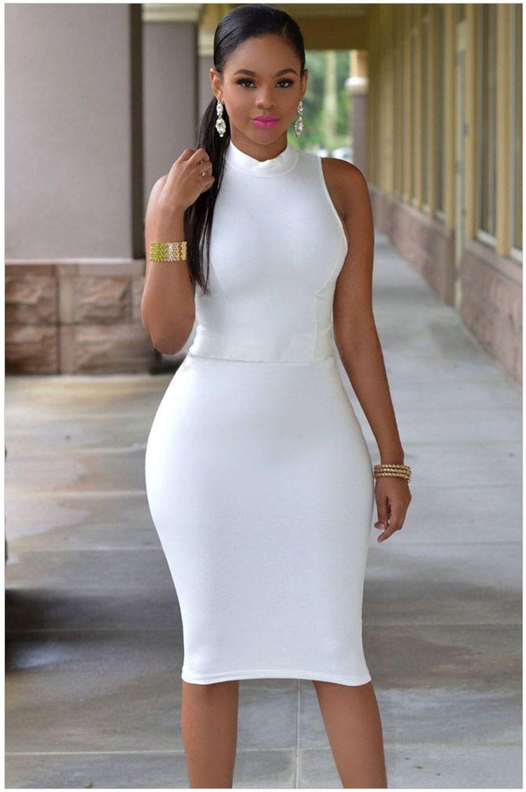 Vestidos sexy para mujer Vestido de club nocturno 2016 Bodycon Partido de la noche Tallas grandes Ropa de mujer Robe Femme Vestidos Nuevo Vestido negro blanco