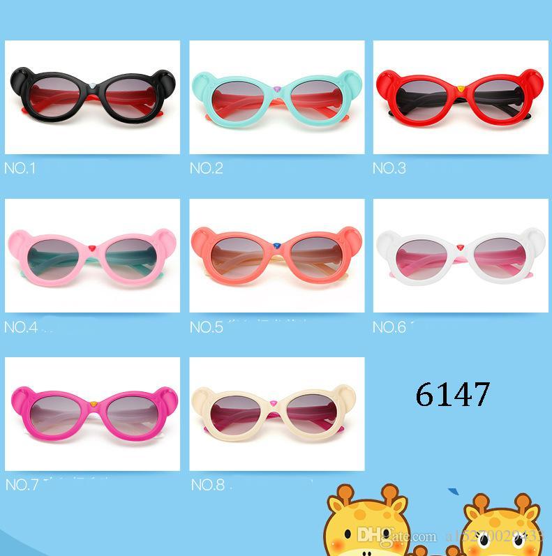 Kinder Fledermaus Elefant Nase Hund Ohr Katzenauge Cartoon Tier Form süße Sonnenbrille junge Mädchen Großhandel