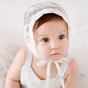 Sweet Princess Hollow Out Baby Girl Hat Summer Lace-up Beanie lace embroidered Bows Bonnet Enfant for 0-18M A8996