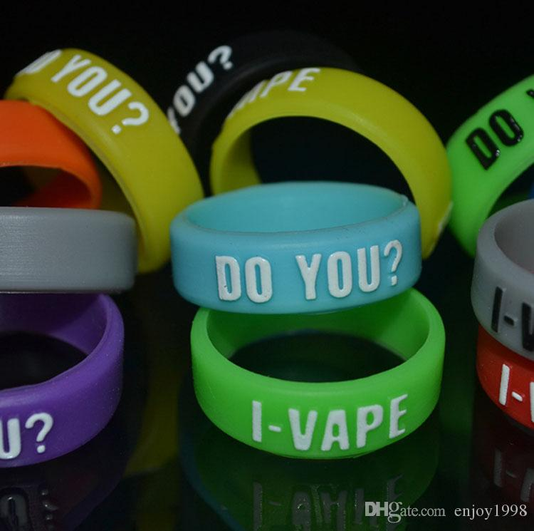Convex Style OEM Anti-Slip Rubber Ring potective & Decoration Silicone Rubber Vape Bands 12mm HOt Sale Vapor Band On Sale