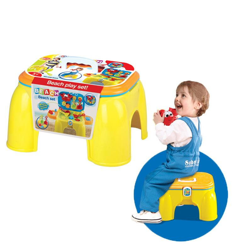 kids toy multiplayer summer fun watering wheel play table set outdoor kid chair beach toy for children gift