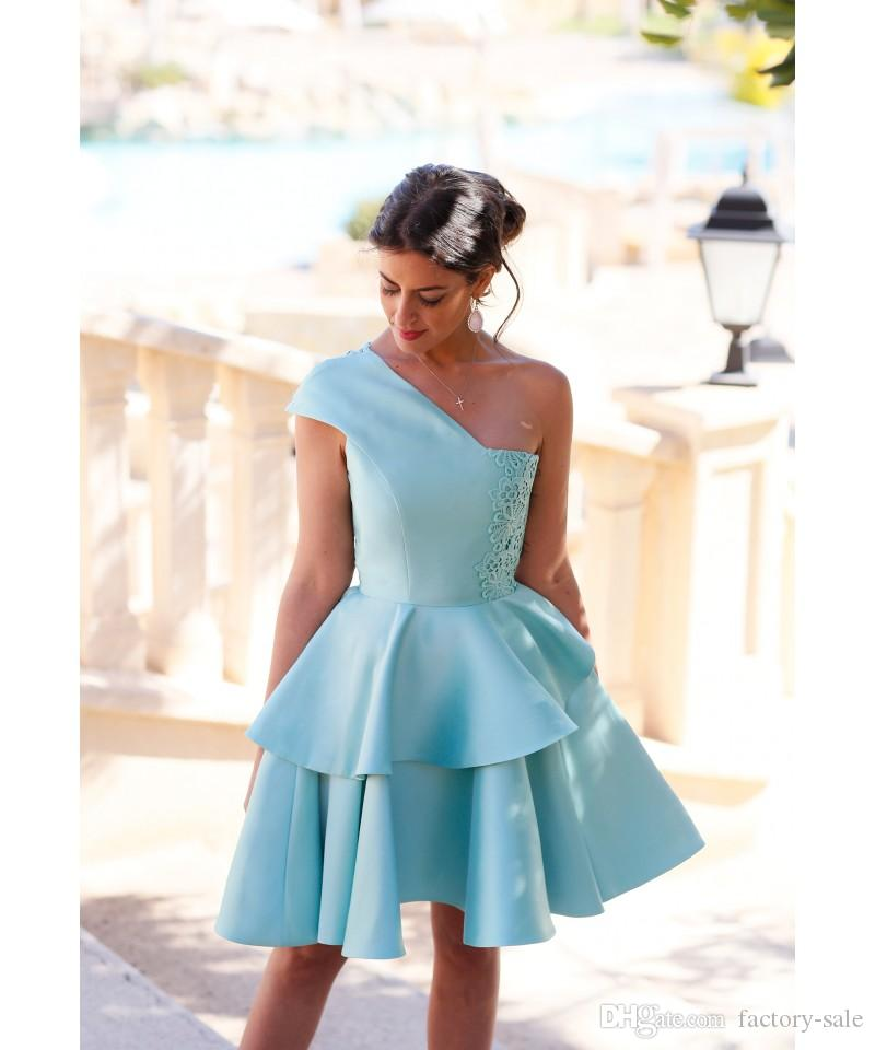 Short Mini Homecoming Dresses for Summer 8th Grade Dance Girls Back to School Sweet Sixteen Graduation Teens Ball Prom Gowns BA2957