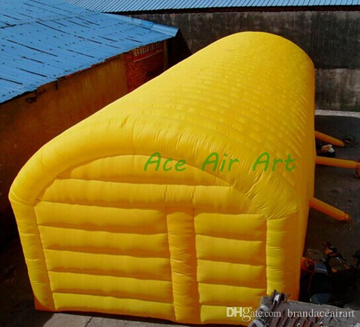 Customizalble high quality inflatable tunnel greenhouse,tunnel tent stage ten for outdoor use