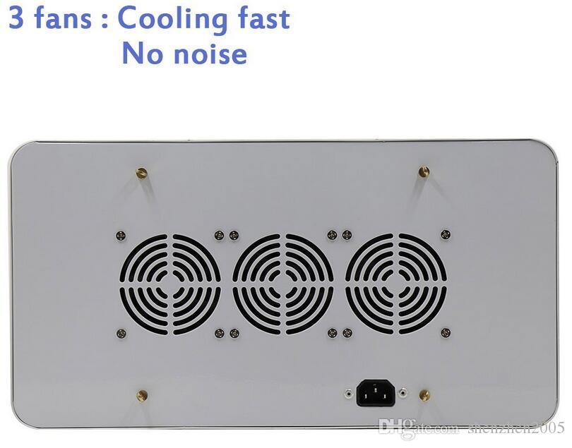 공장 가격 DHL 무료! 높은 품질 600W 전체 스펙트럼 LED 빛 성장 레드 / 블루 / 화이트 / 자외선 / 적외선 AC85 ~ 265V SMD5730 Led 식물 램프