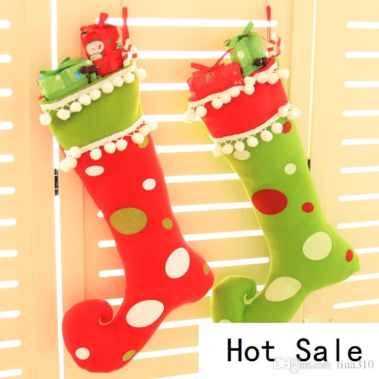 Superb Creative Furnishing Articles To Hang Christmas Window Christmas Stockings  On Christmas Decoration Gifts For Christmas Candy Bag B0755 Unique Christmas  ...