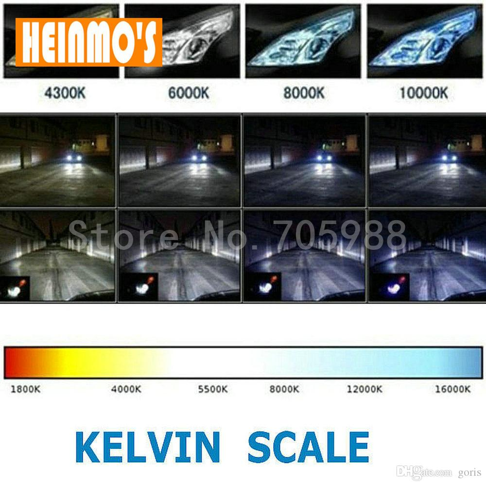 PAIR bi-xenon lens H4 Bi Xenon Car HID Projector lens car hid projector lens headlight Headlamp for universal car truck H4 Hi low 43k 6k 8k