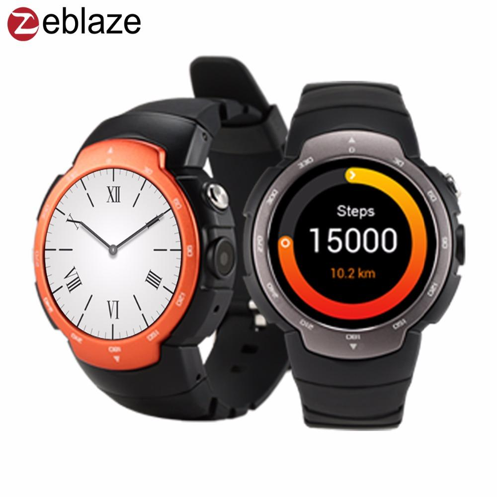 Wholesale Original Zeblaze Blitz Smart Watch MTK Quad Core - Free invoice models best online watch store