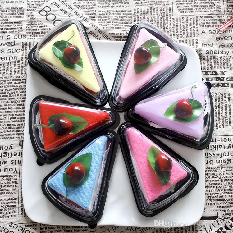 2017 original sandwich kuchenform handtuch hochwertige baumwolltuch 20 * 20 cm beste hochzeitsgeschenk für freunde hochzeit party geschenke
