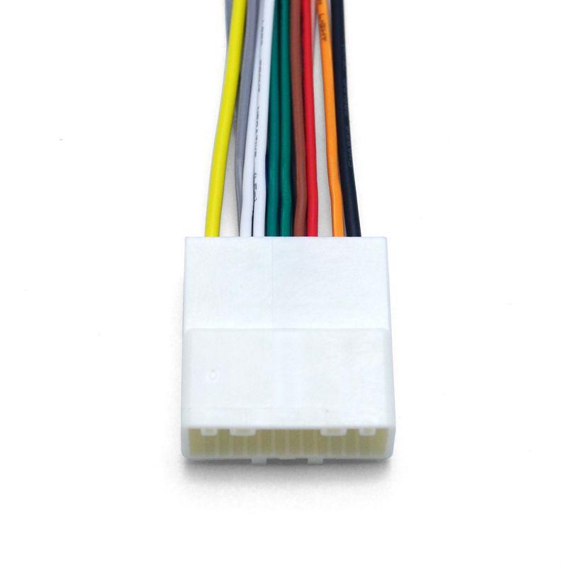 LEEWA 15Pin Car Audio Stereo Wiring Harness Adapter For Nissan/Subaru/Infiniti Install Aftermarket CD/DVD Stereo SKU#:4241