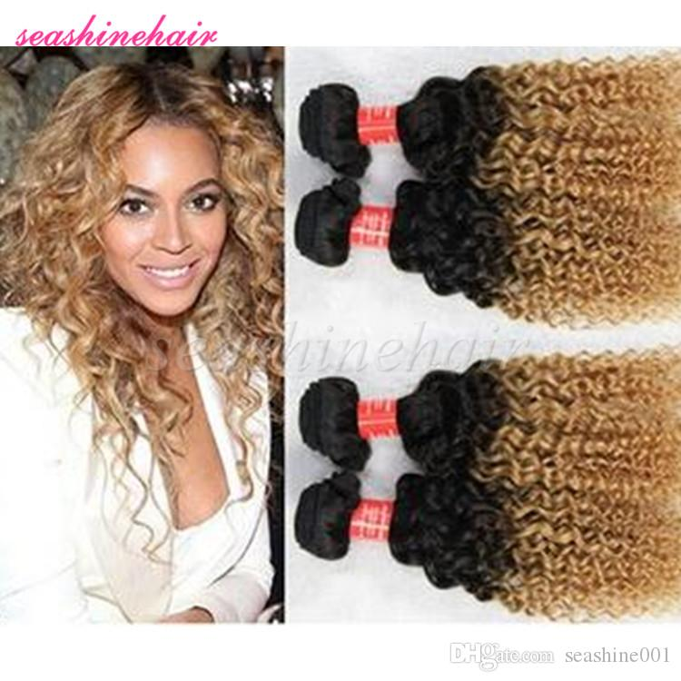 Curly hair weave blonde ombre 6a hair brazilian curly hair bundles curly hair weave blonde ombre 6a hair brazilian curly hair bundles ombre hair extensions weft free shipping pmusecretfo Choice Image