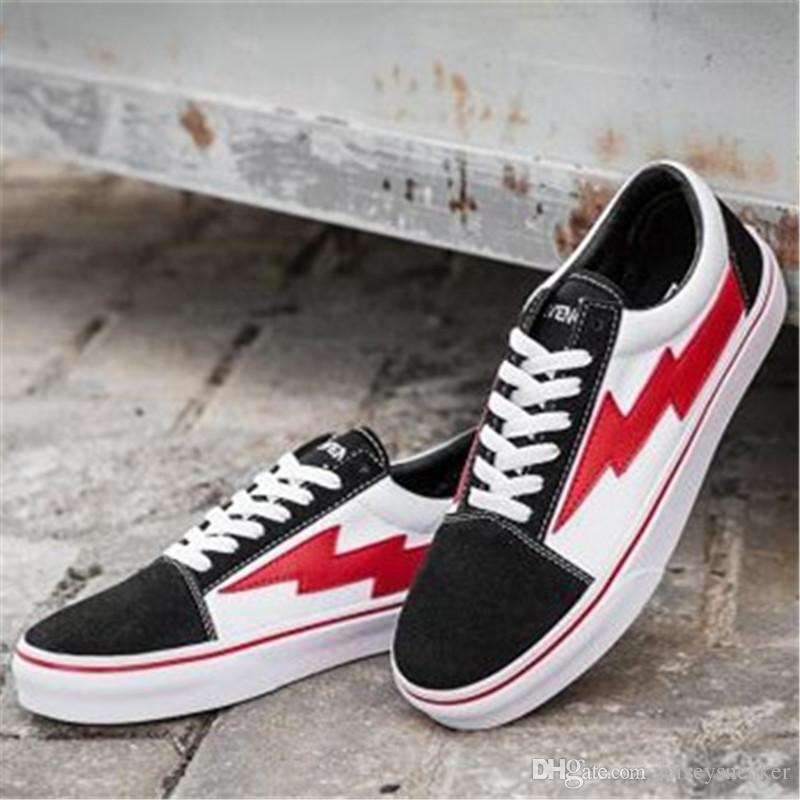 REVENGE x STORM size36-44 Kanye Low-Top High-Top adulto donna uomo scarpe di tela scarpe da skateboard scarpe casual Sneaker