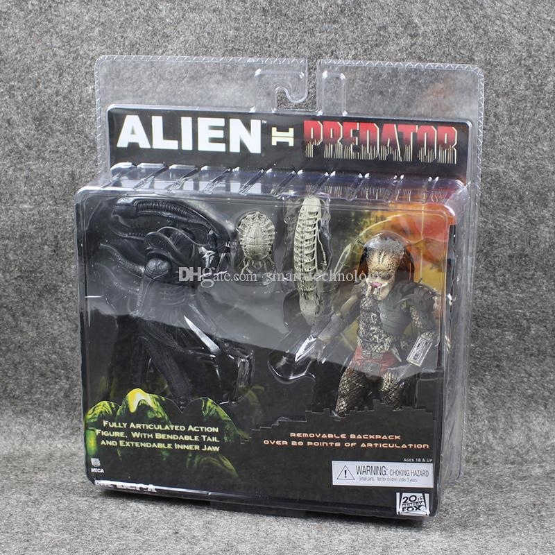 Großhandel Neca Alien Vs Predator Tru Exklusive 2 Pack Pvc Action ...