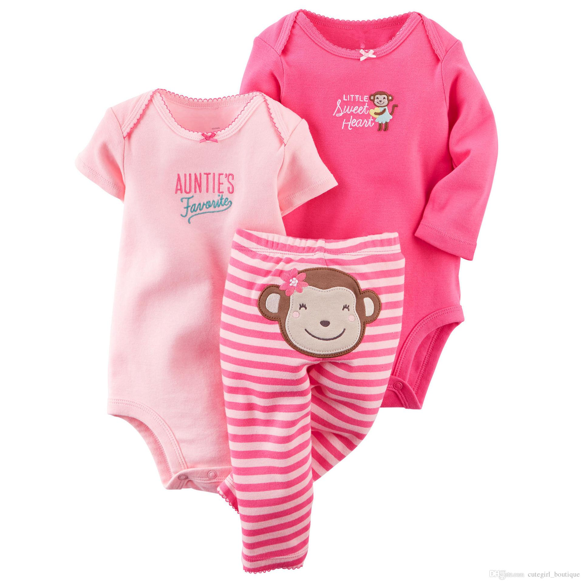 2016 Children's suit The spring and Autumn period and the length of of clothing pants sets kids cotton suits
