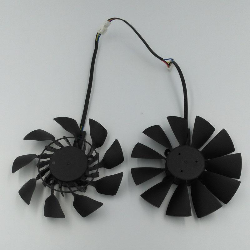 New Original EVERFLOW T129215SU DC 12V 0 5A VGA Card Cooling Fan for  Graphics Card ASUS GTX780 GTX780TI R9 280 290 R9 280X 290X
