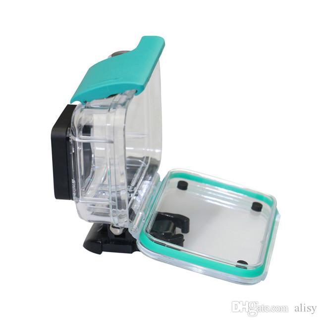 Étui de boîtier étanche pour la caméra de sport Xiaoyi 4K 4k 45M imperméable Protégez la coque de boîtier pour la caméra d'action Xiaoyi
