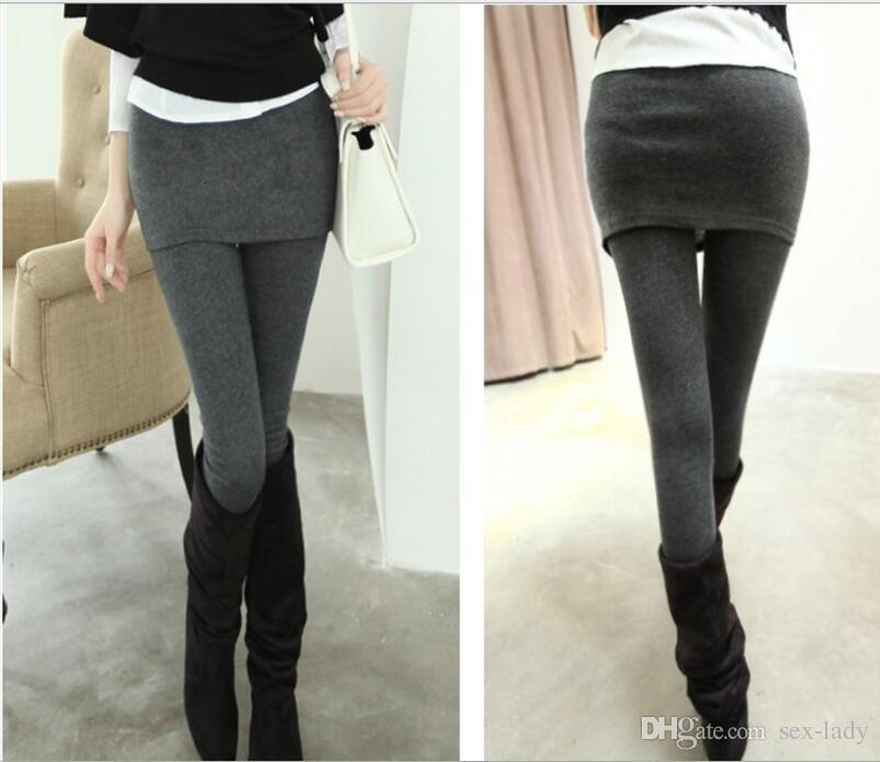 Mini skirt legging