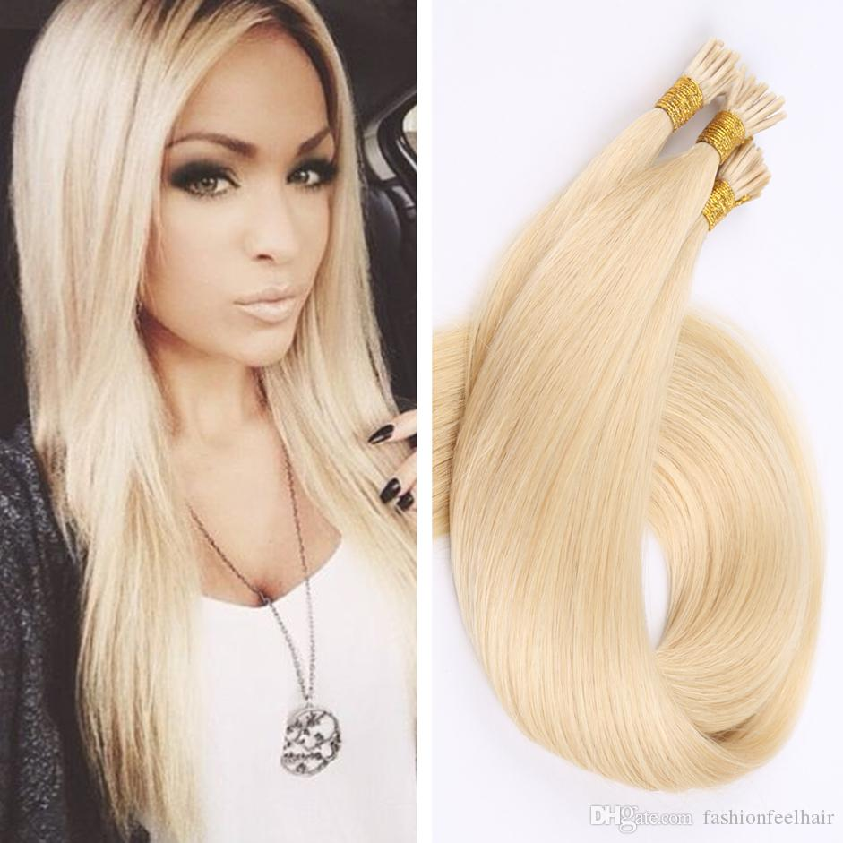 8a I Tip Hair Extension 100s100g Pre Bonded Keratin Fusion Stick