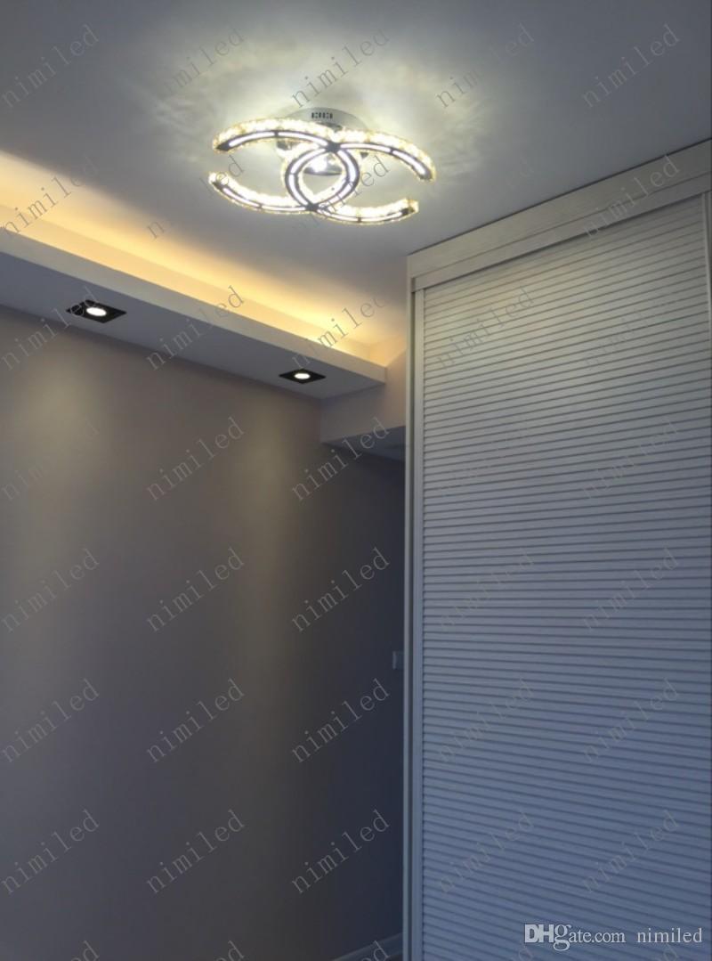 nimi788 ثريات كريستال الحديثة واضحة الصمام سقف غرفة المعيشة أضواء غرفة نوم مصابيح الدافئة متجر لبيع الملابس تركيبات مطعم droplight