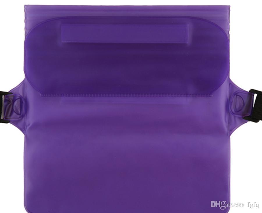 Wholesale Waterproof Dry Waist Bag Pouch Wallet Phone Camera Underwater Swim Kayak Boating Waterproof Waist Belt Bag Case Pack