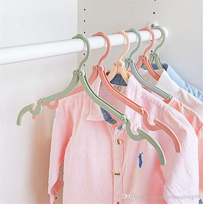 superior quality coat hanger rack portable foldable hanger folding plastic for travel holiday durable clothes hanger stylish from