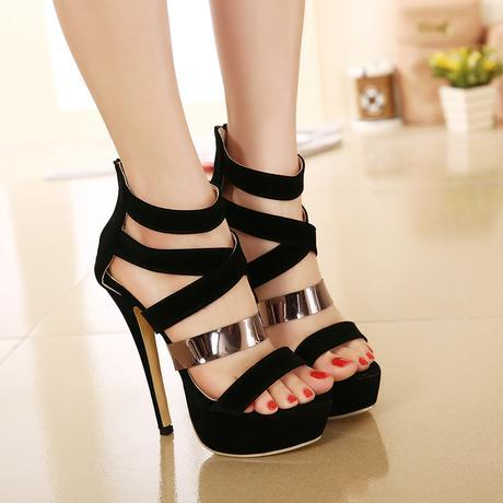 Sexy Crossover Strap Gladiator Sandals Prom Dresses Sandals Womens ...